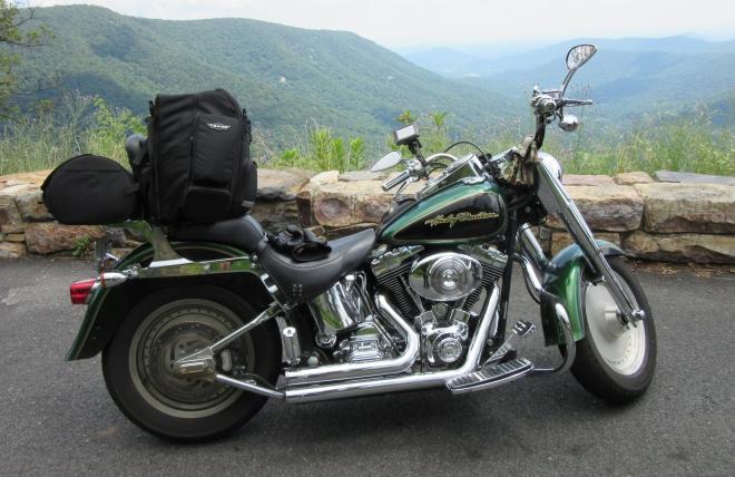 My Harley-Davidson Fat Boy