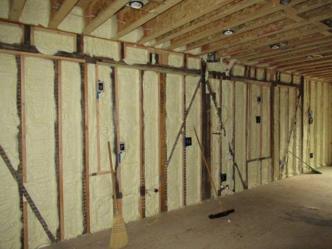 Kitchen wall insulated.JPG