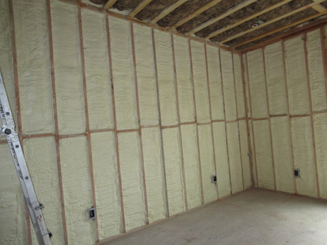 Master bedroom and roof insulation.JPG