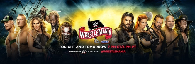 WrestleMania splash
